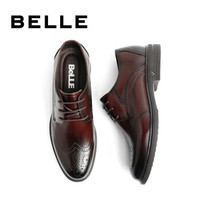 京东PLUS会员:BeLLE 百丽 B3GB3CM9 商务正装鞋