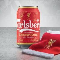 99美酒节:Carlsberg 嘉士伯 利物浦冠军限量罐 330ml*24听*3箱+精酿啤酒 330ml*6瓶