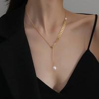 CHIMERA 奇美拉 H1130395 麦穗圆珠 锁骨链