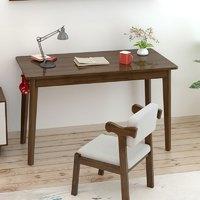 塞纳左居 全实木家用书桌电脑桌 (0.8米无抽单桌)