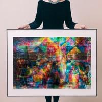 艺术品:罗马艺术家 ALESSIO TREROTOLI  阿莱西奥·特雷罗托雷 《缤纷》Colors