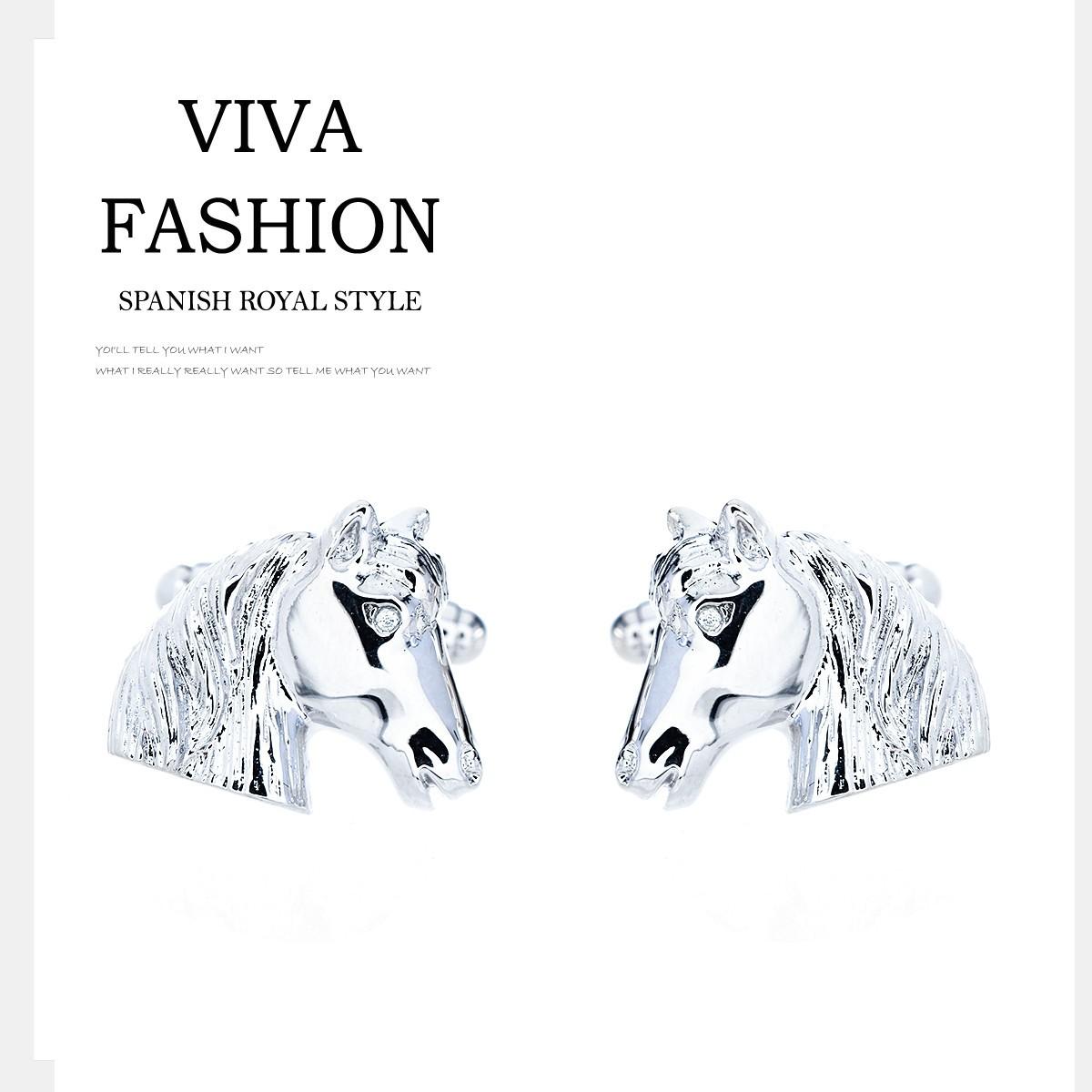 VIVA 比瓦  男士西服馬到成功袖扣 GI3000012000