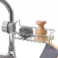 PGY  厨房水龙头不锈钢置物架