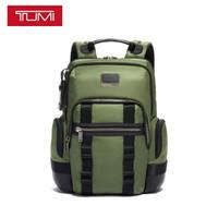 京东PLUS会员:TUMI 途明 Alpha Bravo系列 Norman 男士双肩包 0232307FT 森绿色