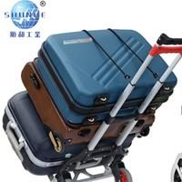 shunhe 顺和 手拉车折叠车 无储物筐黑红款 载重68KG