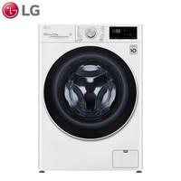 新品发售:LG 乐金 FLX10N4W 变频直驱滚筒洗衣机 10.5公斤