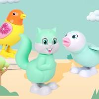 万力睿 儿童发条上链跳跳玩具 企鹅+欢乐鸟+松鼠
