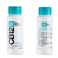 cb12 温和型漱口水 250ml*2瓶  赠美白款漱口水500ml