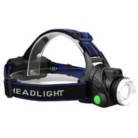 LED头灯强光超亮头戴式小手电筒户外远射充电疝气感应夜钓鱼矿灯