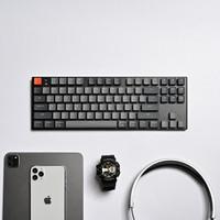 京东京造 K1 87键 蓝牙双模 机械键盘(Gateron矮青轴、白光)