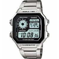 补贴购、限新用户:CASIO 卡西欧 AE1200WHD-1AV 男款运动腕表