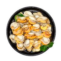 尚品绿洲 新鲜扇贝肉 500g*4袋