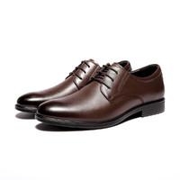 SEVEN 柒牌 119X7008027 男士 经典系带牛皮正装鞋