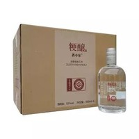 京东PLUS会员:青小乐 粮食酒粳醸精酿纯粮食固态法发酵浓香型白酒 42度500ml*6瓶
