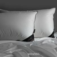 考拉海购黑卡会员:SIDANDA 诗丹娜 100支全棉贡缎95%鹅绒枕(五星酒店款)
