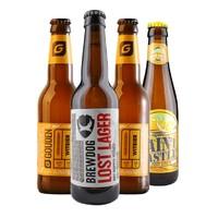 SAINT CASTLE  圣堡  比利时进口精酿啤酒组合  4瓶装