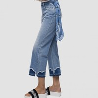 唯品尖货:REPLAY WA690F.50CR456TD1 女式喇叭牛仔裤