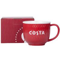 京东PLUS会员:COSTA 咖世家 简约陶瓷小红杯 350ml *2件