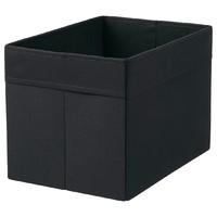 卖爆了超市君:IKEA 宜家 德洛纳 盒 黑色 25x35x25