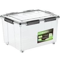 清野の木 透明塑料收纳箱 24L
