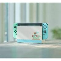 Nintendo 任天堂 Switch续航版 蓝绿限定机 港版(不含游戏)