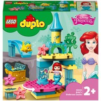 LEGO 乐高 DUPLO 系列 10922 艾尔公主的海底城堡
