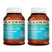 BLACKMORES 澳佳宝 深海鱼油(原味)400粒*2瓶
