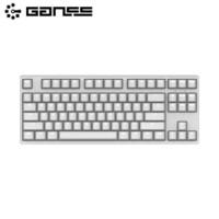 移动专享:GANSS 高斯 GS87D 白光版 蓝牙双模 机械键盘(Cherry轴、PBT)
