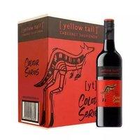 京东PLUS会员:Yellow Tail 黄尾袋鼠 缤纷系列 加本力苏维翁(赤霞珠)红葡萄酒 750ml*6瓶