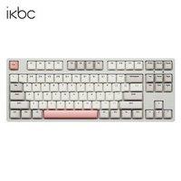 学生专享:ikbc C200 87键 机械键盘 Cherry轴 工业灰
