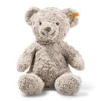 德国Steiff毛绒玩具Honey甜心安抚抓握陪伴玩偶泰迪熊灰色 38cm 113437