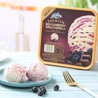 MUCHMOORE 玛琪摩尔 鲜奶冰淇淋 博伊森莓味  2L *2件