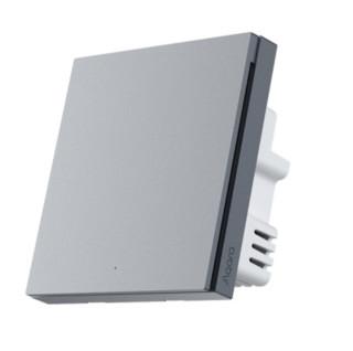 Aqara 智能墙壁开关 H1 Pro ZigBee零火单键版