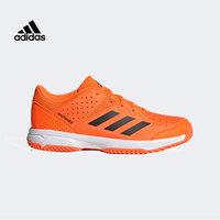 阿迪达斯 Adidas 休闲运动鞋女通用训练跑步鞋羽毛球鞋儿童G28899 橙色 37码(4.5)