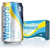 Watsons 屈臣氏 盐味苏打汽水 330ml*24罐 *2件
