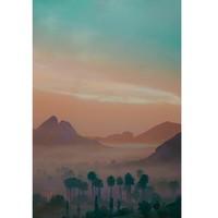 艺术品:夏威夷艺术家 Aryton Page艾瑞顿·佩吉 《热带氛围 14号》Tropical Vibes