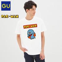 GU 极优 322899 吃豆人联名款 男T恤