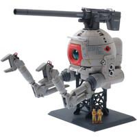 万代(BANDAI) MG 高达卡版 拼装模型玩具 18cm MG卡 白铁球