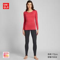 UNIQLO 优衣库 HEATTECH 418325 女长袖T恤