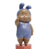 艺术品:瞿广慈作品《baby赞》家居办公室装饰品雕塑摆件礼品 baby赞!迷你版
