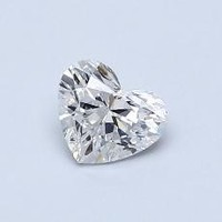 真心好礼:Blue Nile 0.50克拉心形钻石(非常好切工 F级成色 SI1净度)