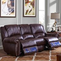 1日0点、历史低价:CHEERS 芝华仕 5529 美式布艺电动功能沙发组合 三人位