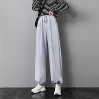 NISSEN  N8036820777 系绳阔腿休闲裤