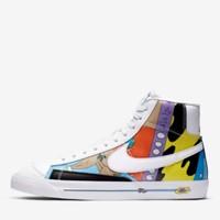 24日9点、新品发售:NIKE 耐克 FlyLeather Blazer '77 QS 男子运动鞋