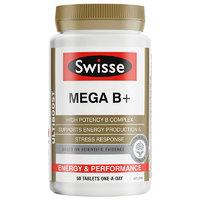 25日0点、88VIP: Swisse 瑞思 复合B族维生素 60片