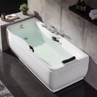 HUIDA 惠达卫浴 HD101 五金龙头浴缸 150*77*63cm