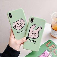 YINUO 以诺 猪猪 iPhone全包手机壳