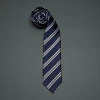 goldlion 金利来 WEDAEC963D33-55D3 男士 桑蚕丝条纹领带