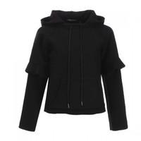 Armani Exchange 6ZYH06YN 女款含羊毛连帽上衣