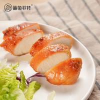 鲨鱼菲特 鸡胸肉即食 高蛋白肉脯健身餐 低脂代餐轻食速食食品 共1590g(鸡胸肉*12+鸡肉丸*4+鸡肉肠*6)